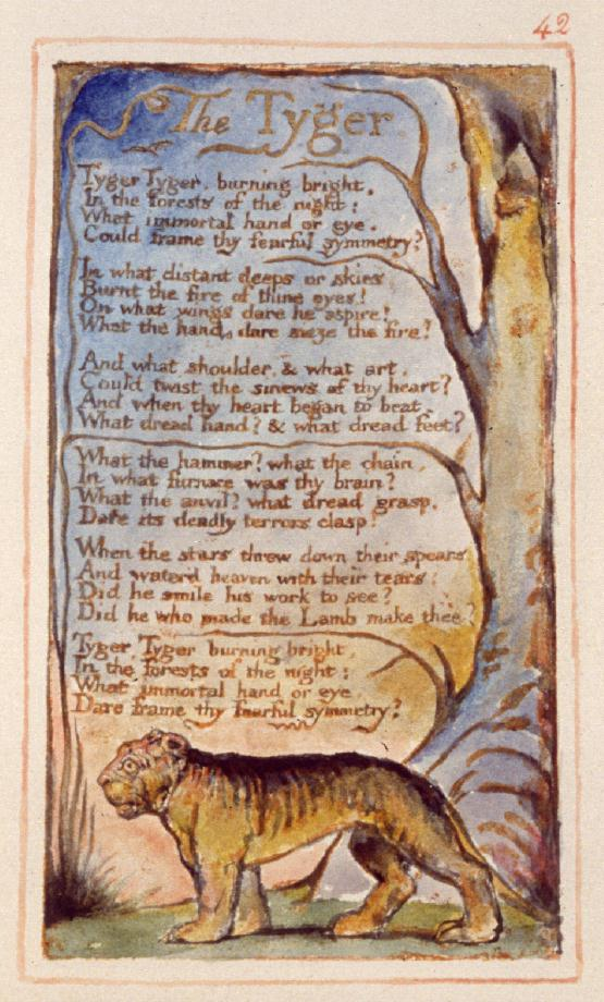 William Blake: The Tyger, 1794