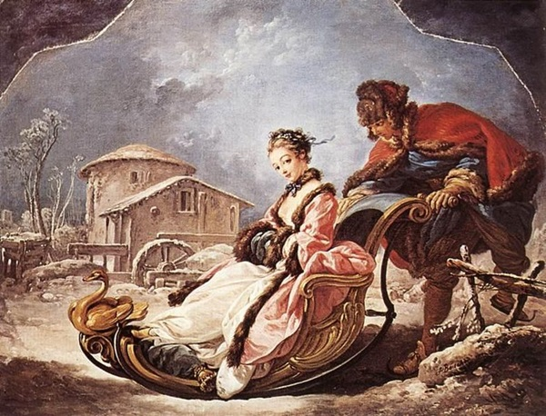 François Boucher: Tél, 1735, Frick Collection, New York