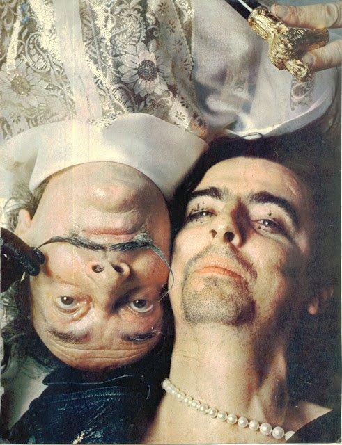 Salvador Dalí & Alice Cooper, 1973.