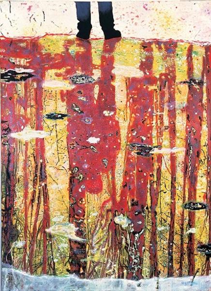 Peter Doig: Reflektálás (Hogy néz ki a lelked?), 1997, Tate, London