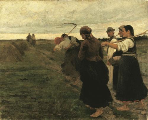 Koszta József: A hazatérők (kép forrása: mng.hu)