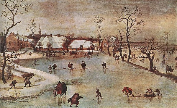Jacob Grimmer_ Tél, 1550 után, Szépművészeti Múzeum