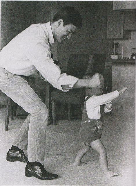 Bruce és Brandon Lee, 1966