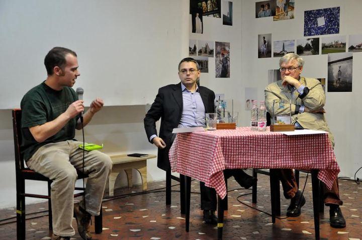 Beszélgetés a szerzőkkel (Fotó: Varga Csaba)