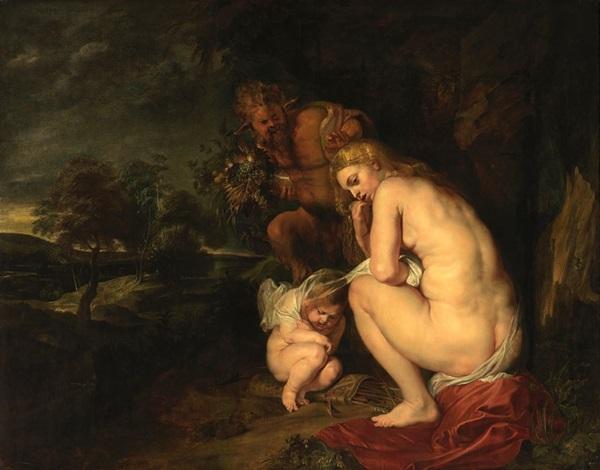 Peter Paul Rubens: Fagyoskodó Vénusz, 1614, Szépművészeti Múzeum, Antwerpen