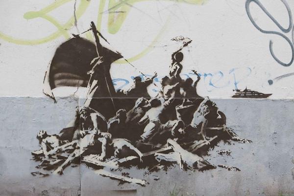 Banksy: Nem evezünk mind egy csónakban