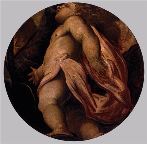 Tintoretto: Tél, 1564, Scuola Grande di San Rocco, Velence