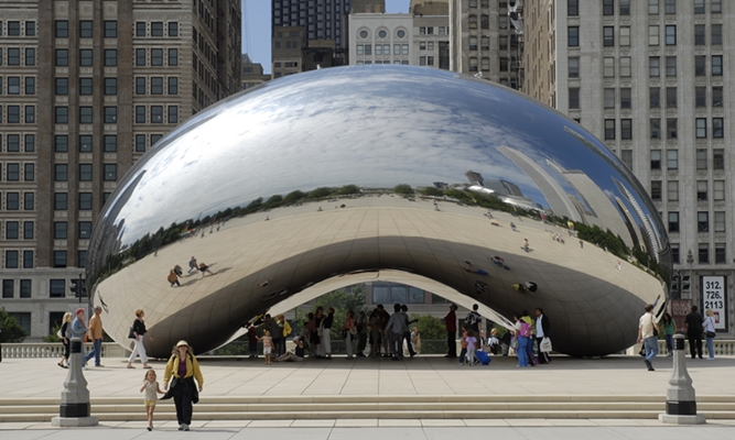 Cloud Gate, Chicago, Millennium Park
