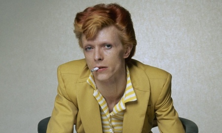 "David Bowie, 1974 (Fotó: Terry O""Neill/Getty)"