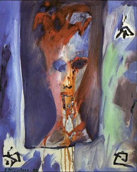 Paul McCartney: Bowie okádik, 1990 (fotó: huffingtonpost.com)