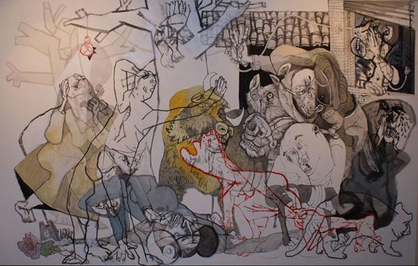 Sergio Moscona: Hommage à Guernica
