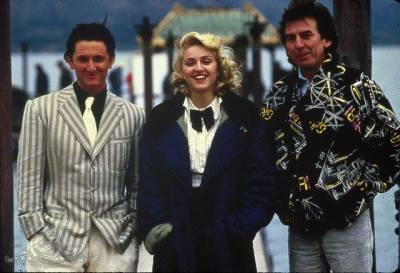 Sean Penn, Madonna, George Harrison