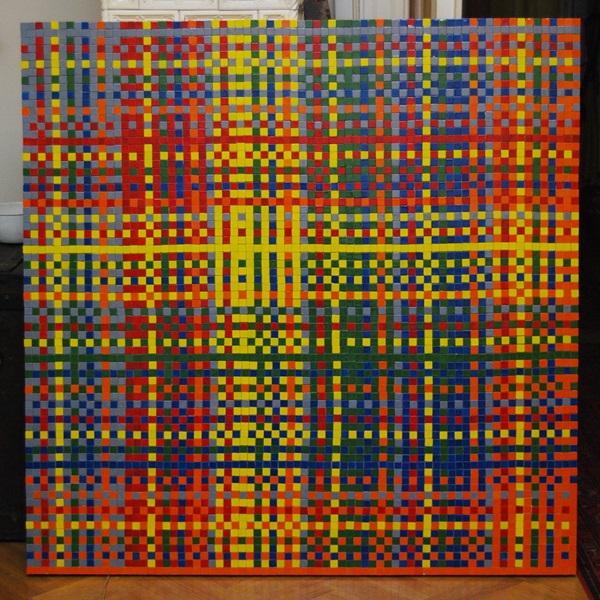 Pólya Zsombor: 2x2-es Rubik kocka összes változata, 2009 (fotó: zsomborpolya.com)
