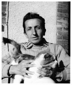 Francois_Fiedler_Portrait_With_Cat