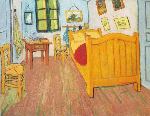 Van Gogh szobája Arles-ban, első változat, 1888