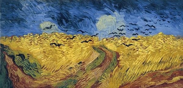 Vincent van Gogh: Varjak a búzamező felett