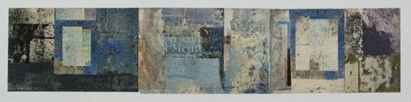 Alföldi László: Pompeji vázlatok V. (Kék tükrök háza) (fotó: artezi.hu)