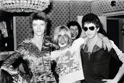 David Bowie, Iggy Pop, Lou Reed