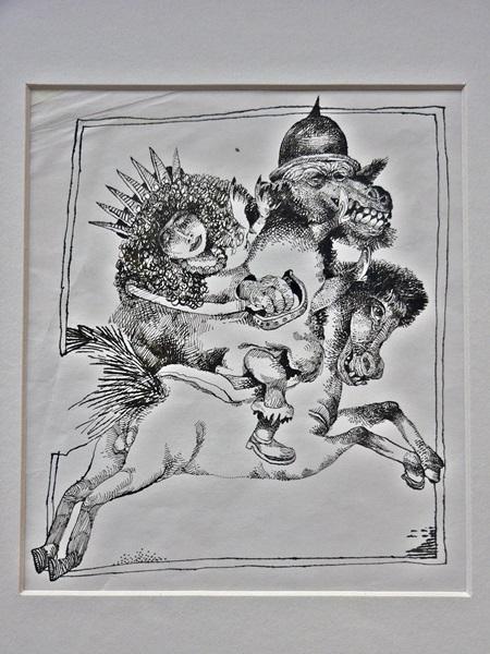 Engel Tevan István illusztrációja a János Vitéz c. vershez