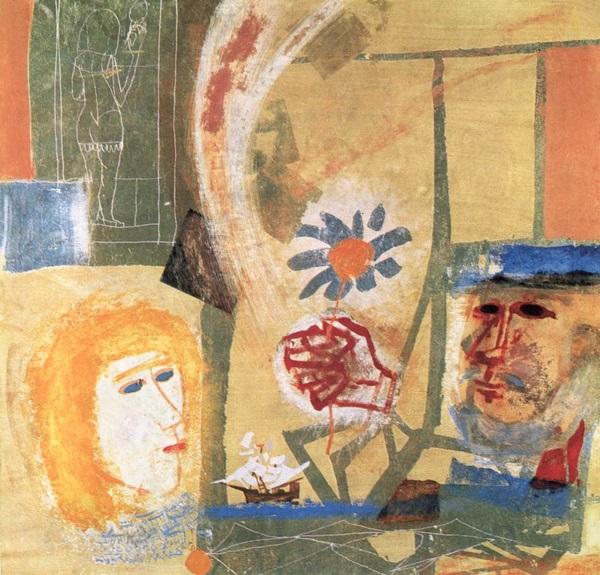 Kondor Béla: Tengerész álma (Öreg halász), 1964 (fotó: hung-art.hu)