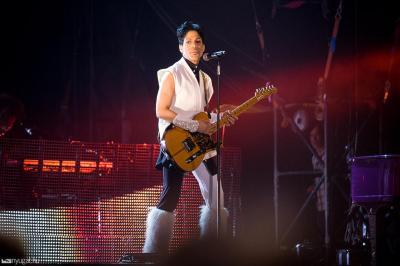 Prince a Sziget nulladik napján, Budapest, 2011