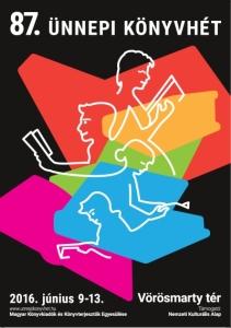 A 2016-os plakát Király Péter grafikus munkája